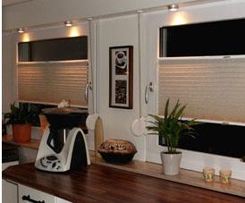 Plissee Küche fensterdeko plissee als vielfältiger sicht und sonnenschutz